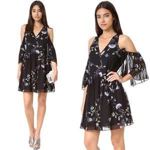 Rebecca Minkoff Robbie Cold Shoulder Floral Dress